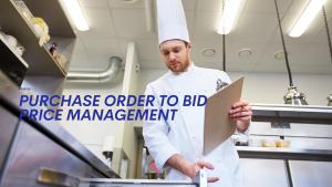Purchase Order to Bid Price Management